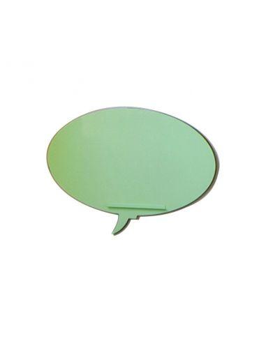 Pizarra oficina Skin Talk de Rocada en verde