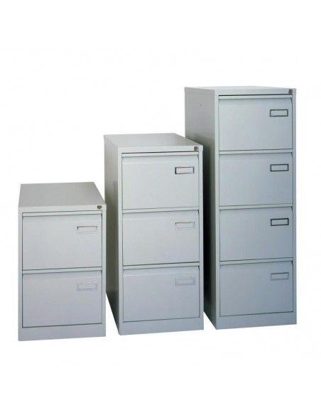 Muebles archivador 3 cajones de Bisley en blanco