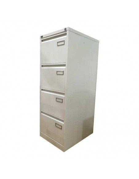 Armario archivador 4 cajones de BIsley en color blanco