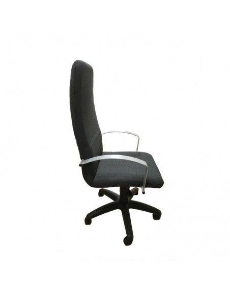 Silla despacho Confort de Tecno-Ofiss en negro y gris