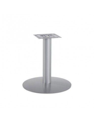 Estructura gris aluminio mesa de reunion redonda de jgorbe