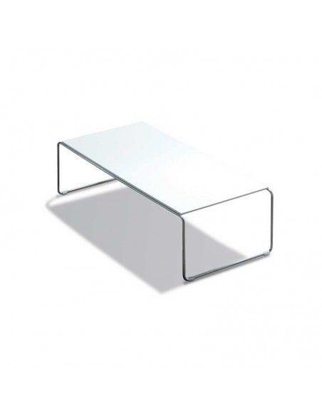 Mesa de centro rectangular Etnia de inclass en blanco