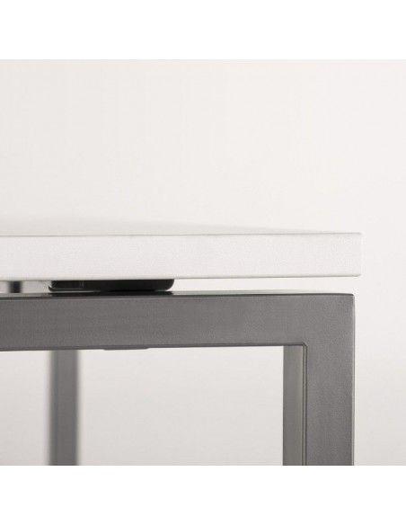detalle tabero y estructura de mesa oficina portico de jgorbe
