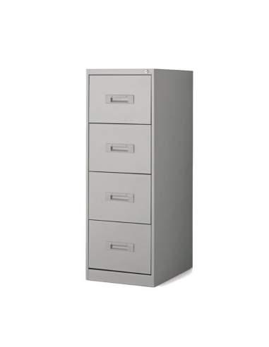 Mueble archivador 4 cajones de More Squared en gris