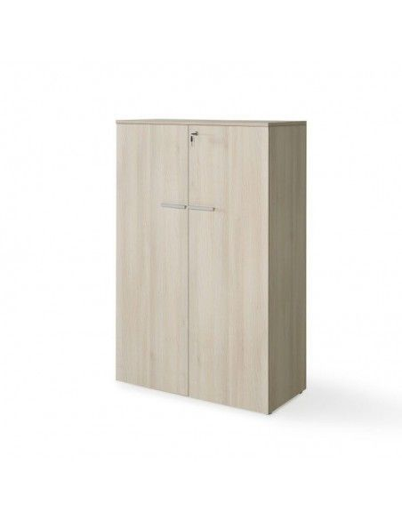 Armario oficina con puertas, cerradura y estantes de JGorbe en acacia