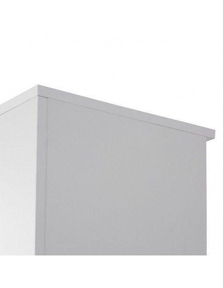 detalle trasera y techo del armario oficina mediano de jgorbe