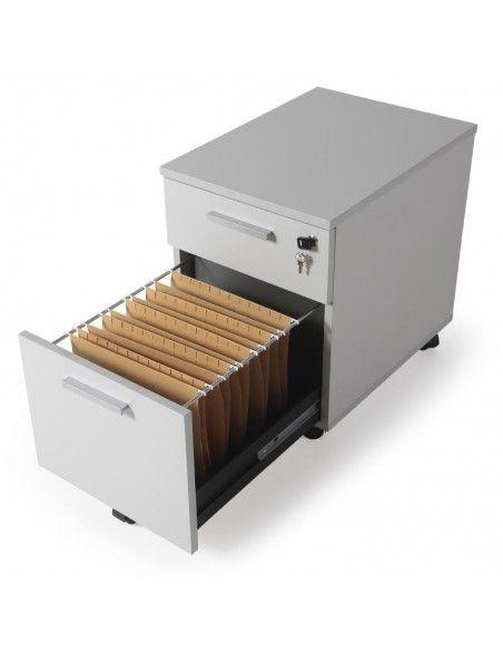 detalle cajón archivador oficina de madera jgorbe