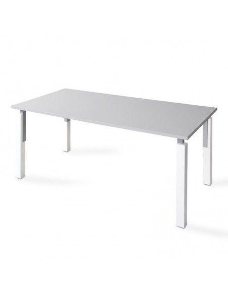 Mesa escritorio oficina serie Eco de JGorbe en gris claro
