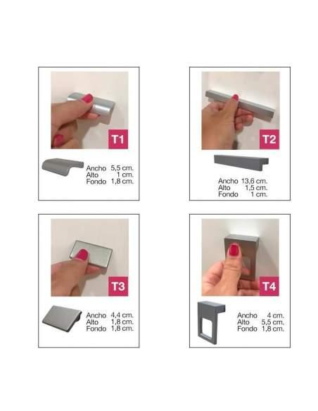 opciones tiradores armarios de oficina jgorbe