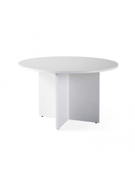 mesa redonda reuniones pie aspa jgorbe color