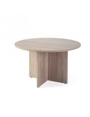 mesa de reuniones redonda color jgorbe
