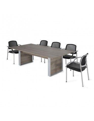 Mesa de reuniones rectangular Omega de JGorbe en nebraska