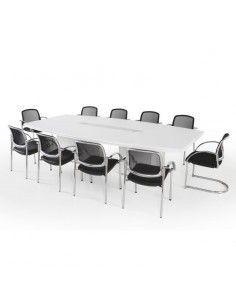 mesa de sala de juntas grande jgorbe lider