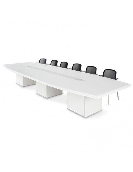 mesa sala de juntas grande rectangular jgorbe