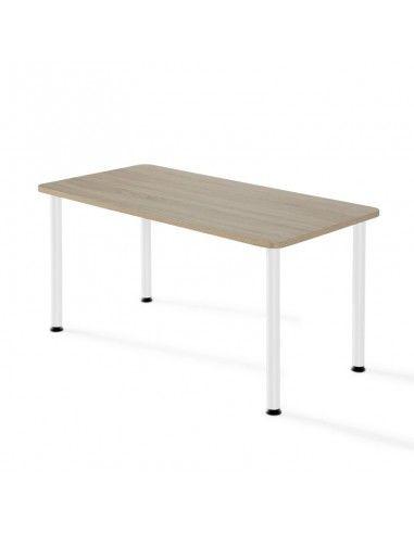 mesa rectangular academias