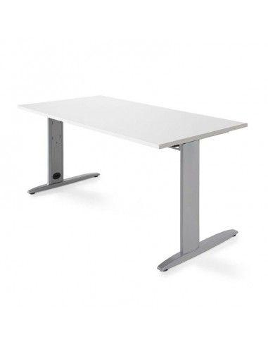 Mesa escritorio oficina Carving de Jgorbe en blanco