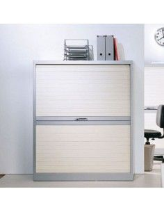 Armario oficina persiana horizontal de 105 cm. de altura de Gapsa