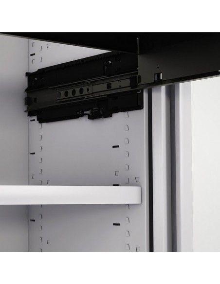 Bastidor para carpetas para el armario oficina persiana vertical de Gapsa en blanco