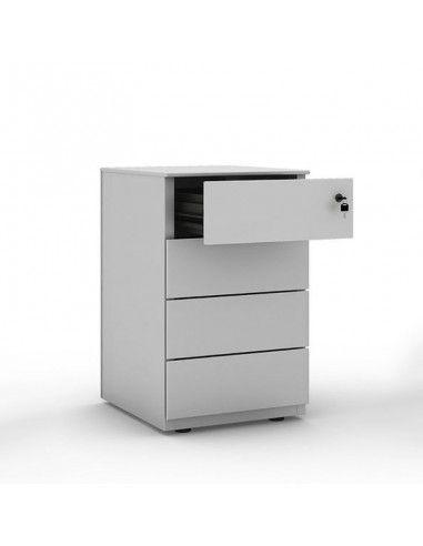 Cajonera escritorio 4 cajones de Gapsa en gris