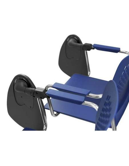 Silla con pala Kali de Tecno-Ofiss en azul