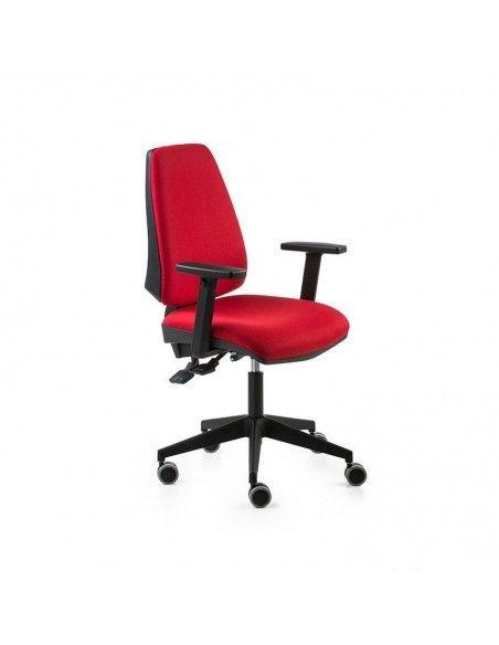 Silla escritorio Adapta de Dileoffice en rojo