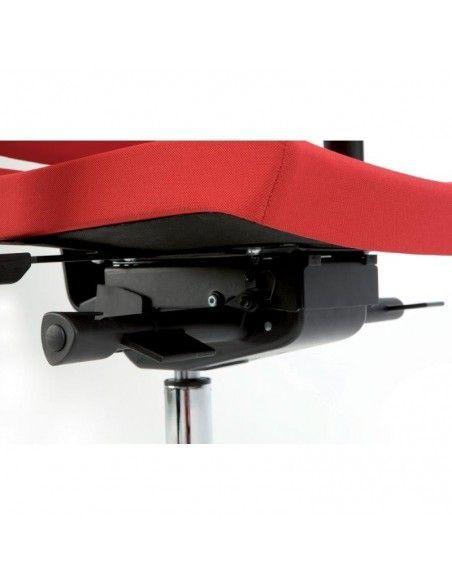 Detalle mecanismo silla oficina Flexa de Dileoffice