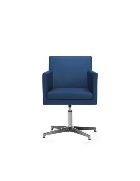 Sillon oficina Brooklyn de Dileoffice en color azul
