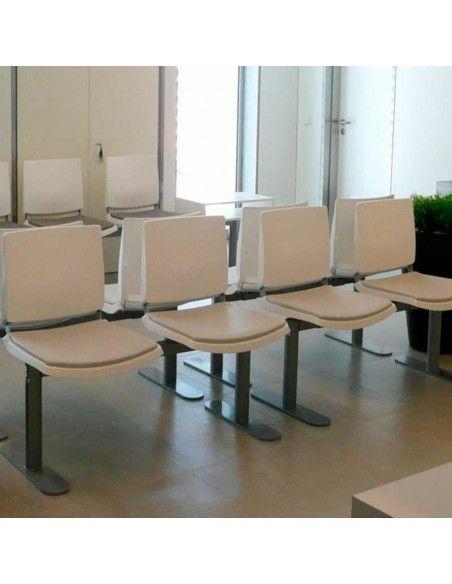 Bancada oficina Atenea de Dileoffice sala de espera