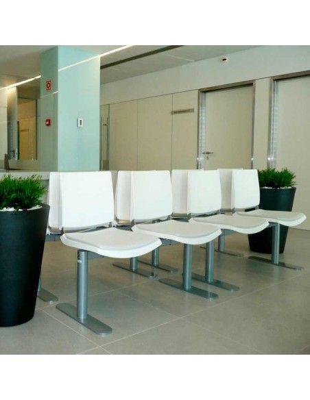 Bancadas oficina Atenea de Dileoffice sala de espera