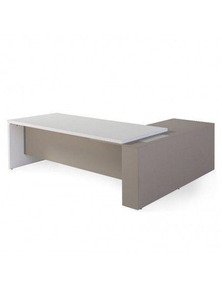 Mesa despacho G3 Premium de JGorbe en blanca y arena