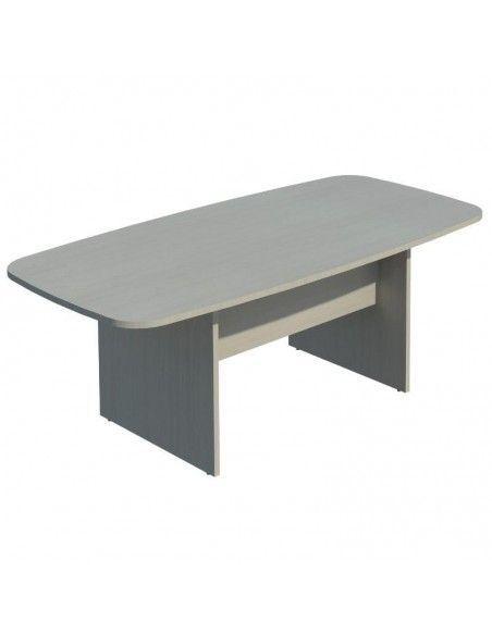 mesa reuniones rectangular barata 200 cm. color jgorbe