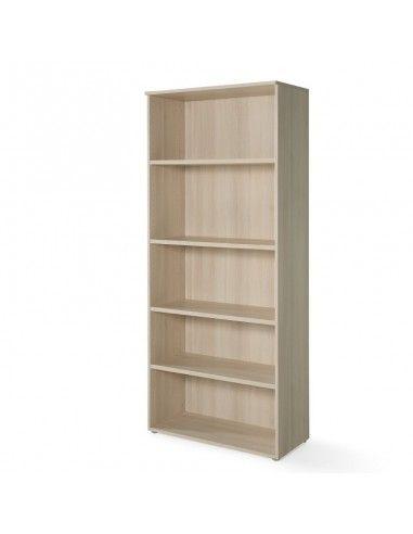 Armario oficina con estantes de JGorbe en color acacia