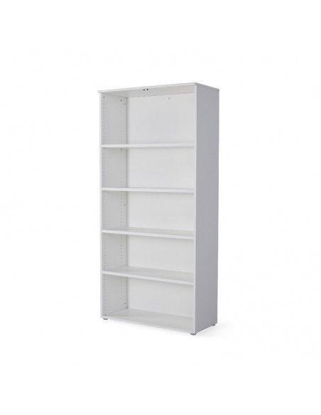Armario oficina con estantes de JGorbe en color blanco