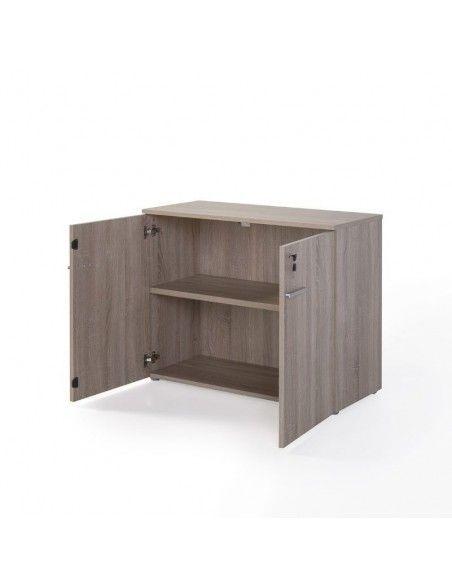 armario de madera con puertas olmo de jgorbe