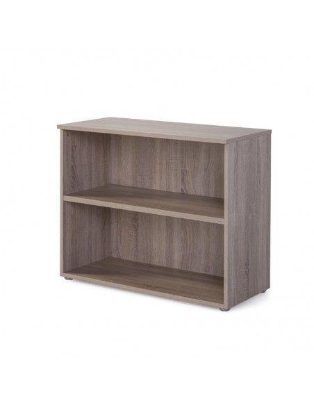 Armario oficina madera bajo sin puerta de JGorbe