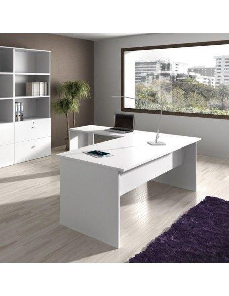 Oferta muebles oficina mesa escritorio, ala y cajonera
