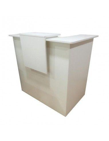 mostrador recepcion basic modulo esquina izquierda
