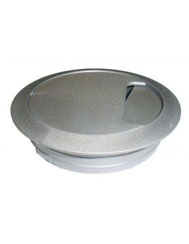 Pasacables mesa en PVC de 8 mm. de diámetro