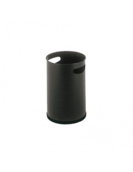 Papelera oficina con asas de Sie en color negro