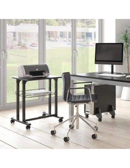 Mesa auxiliar para impresora de systemtronic en varios colores