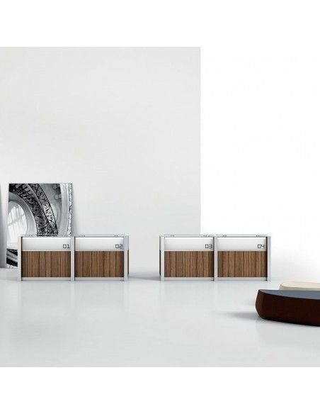 Mueble recepcion italiano Led de della valentina
