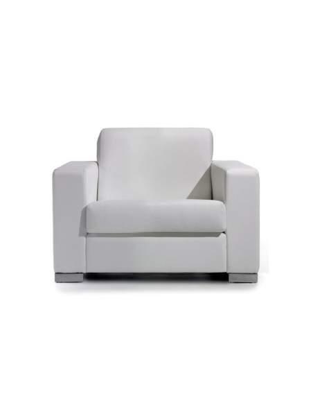 Sofá oficina Living de Intacor en blanco
