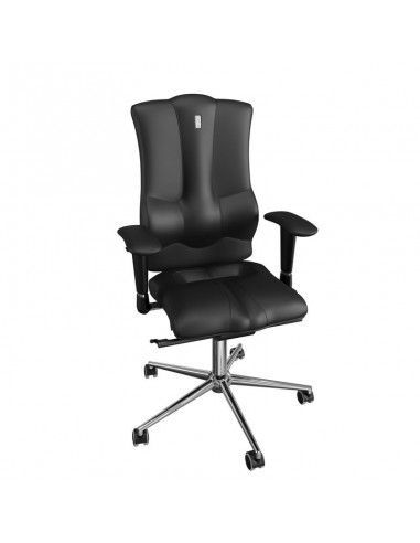 Silla ergonomica elegance polipiel negra de kulik system
