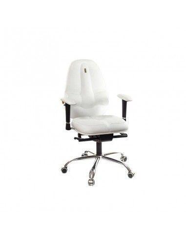 Silla ergonomica Classic de kulik system en blanco