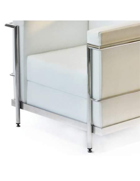 Sofa oficina Agora de Intacor blanco