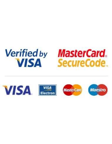 pago con tarjeta, paypal o transferencia la oficina online