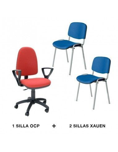 Oferta sillas oficina OCP y Xauen de tecno ofiss