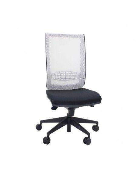 Silla de escritorio con brazos Kind malla de tecno ofiss