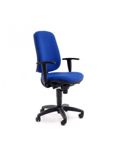 Silla oficina Anthea de Tecno Ofiss en color azul