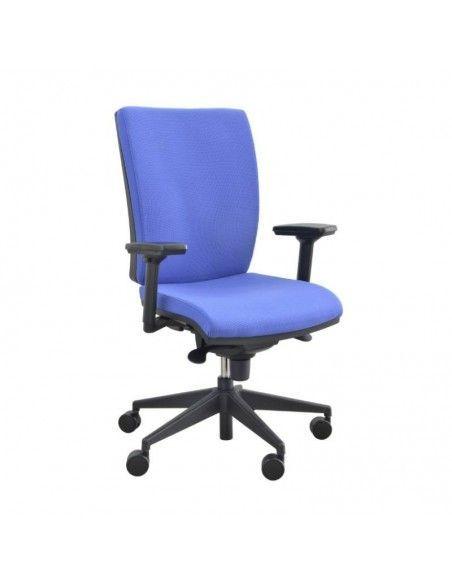 Silla de escritorio con brazos Myst de Tecno-Ofiss en color morado